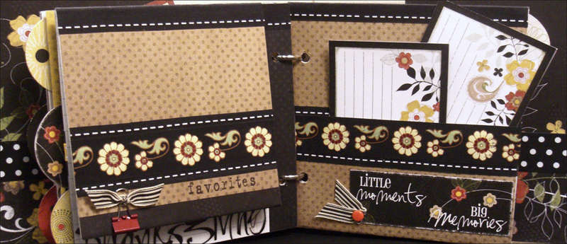 """Good Eats"" Recipe Mini Album Thanksgiving Flip and Pocket Pages"