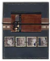 Grandpa's Magnetic Photo Frame