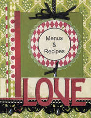 New Holiday Organizer - Menus and Recipes Section Page