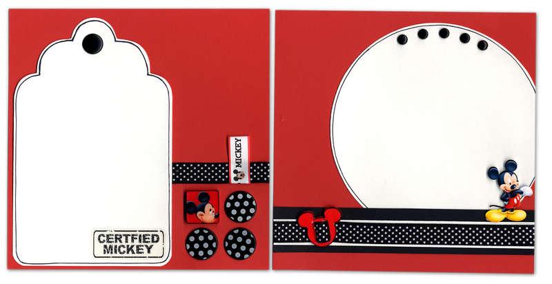 Disney *Photo-Ready* Mini-Album - pg. 2 & 3