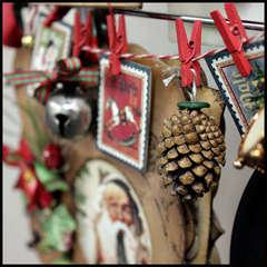 Hanger Close Up: Garland and Bo Bunny Photo Album