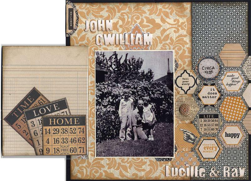 John, Lucille & Ray - Detail