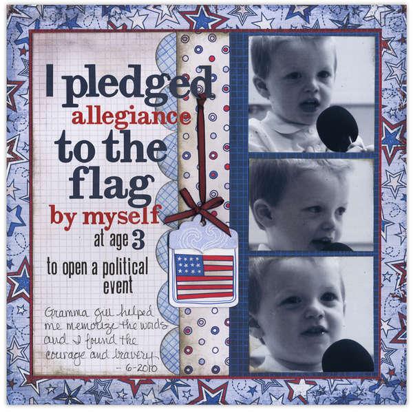 I Pledged...