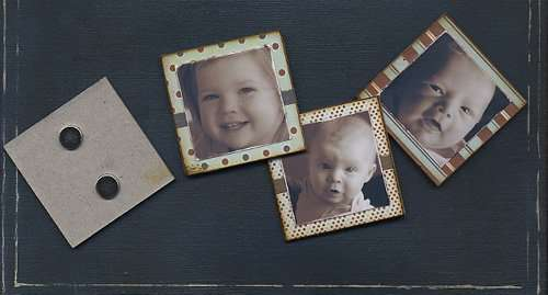 Grandpa's Photo Frame (magnets)