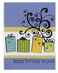 Happy Birthday March - Aquamarine
