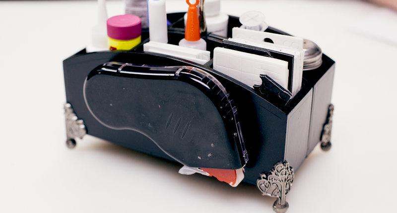 Studio - Adhesive Storage/Organization Caddy - #1 Primary