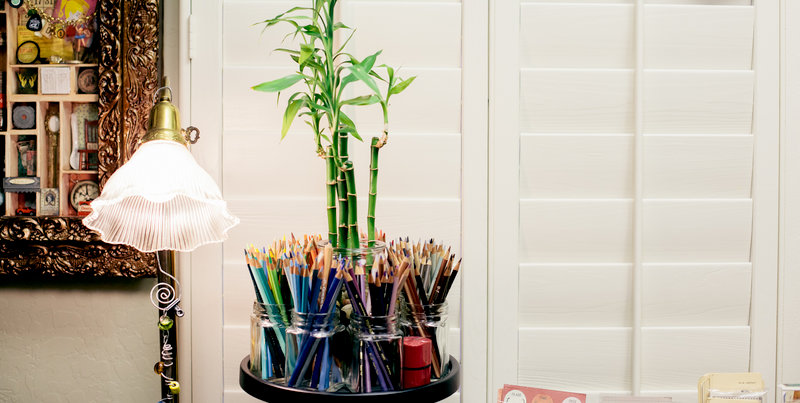 Studio: Colored Pencil Carousel Storage/organization