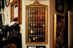 Studio - Decor, Vintage Hotel Key Board, altered