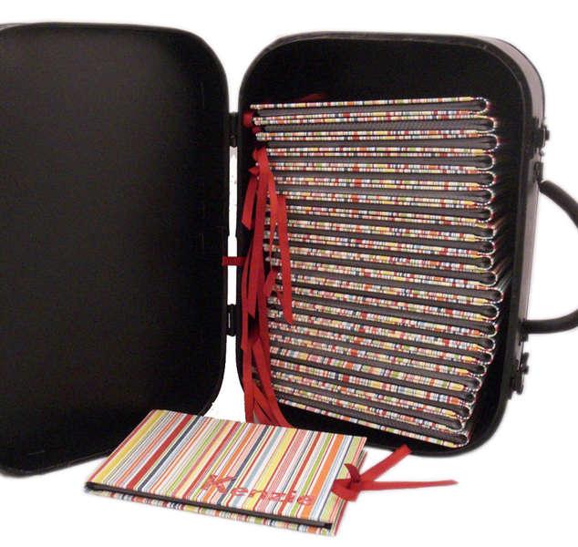 Vintage Suitcase - Photo Album Holder