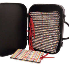 Vintage Suitcase - Photo Album Holder