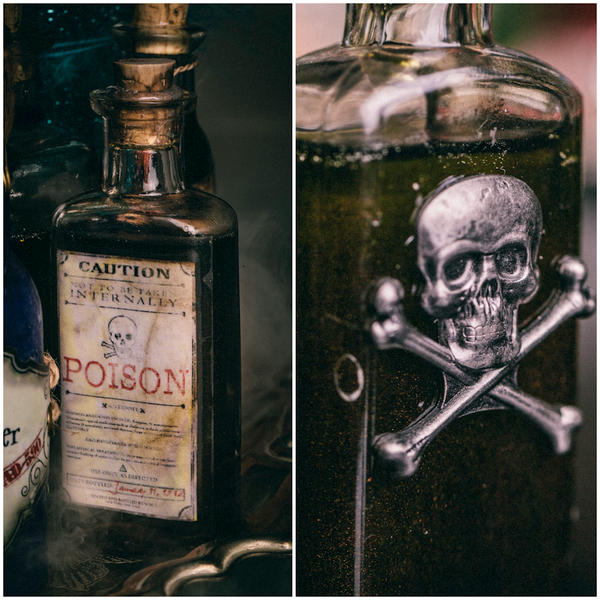 DIY Harry Potter Potions for Halloween: Poison