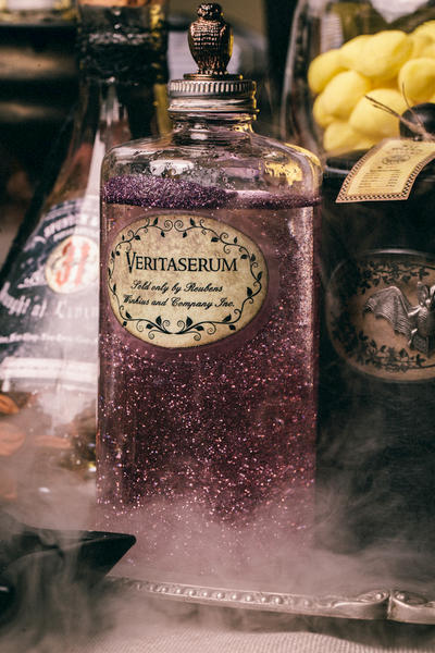 DIY Harry Potter Potions for Halloween: Veritaserum