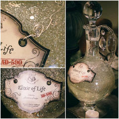 DIY Harry Potter Potions for Halloween: Elixer of Life