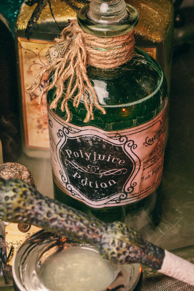 DIY Harry Potter Potions for Halloween: Polyjuice
