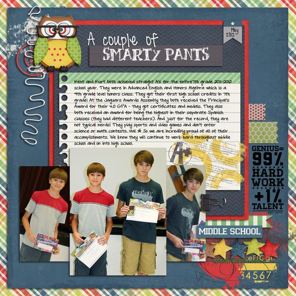 A couple of Smarty Pants