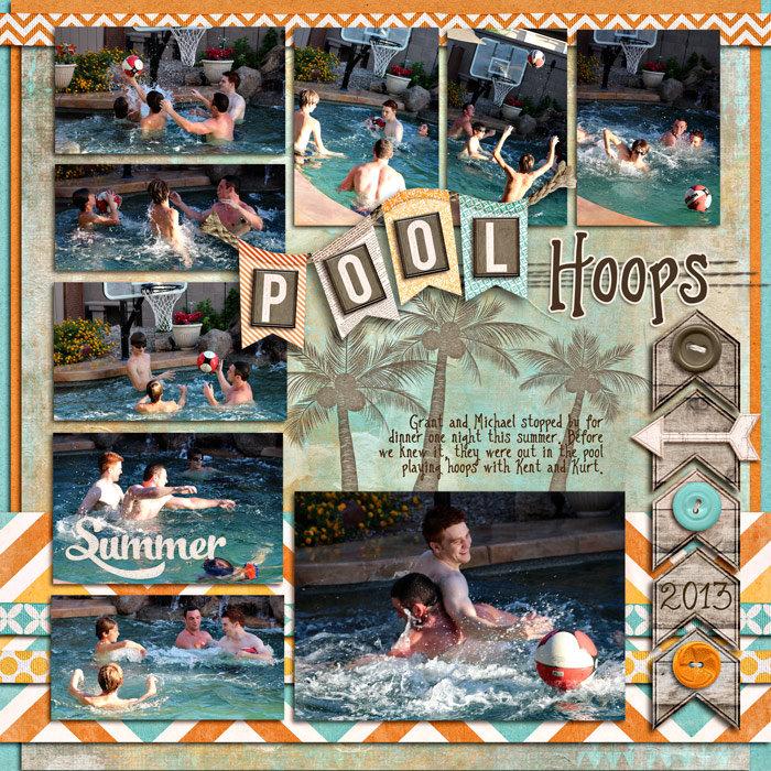 Pool Hoops