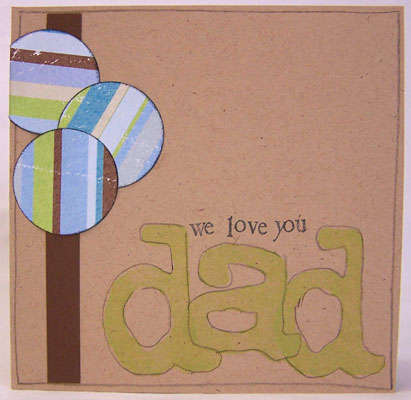 We Love You Dad (card-front)