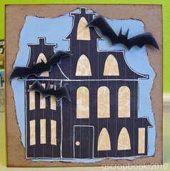 happy Halloween card (pop-up)