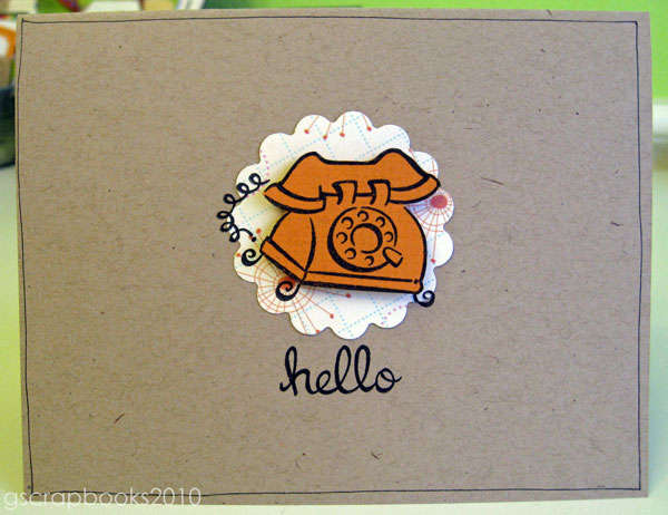 hello card (pop-up)