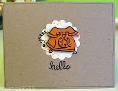 hello card (pop-up)