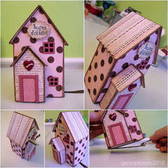 Hopes and Dreams House (for the Sizzix Triple Play Blog Hop)