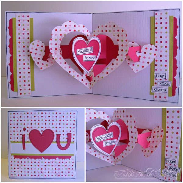 i {heart} u card (pop-up)
