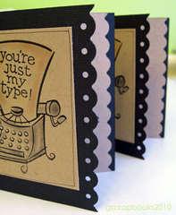 typewriter note cards (inside)