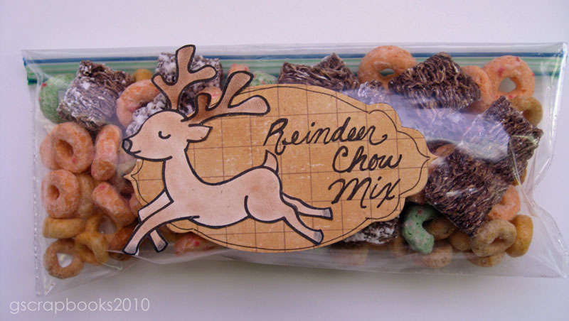 Reindeer Chow (for Sizzix Blog Hop)