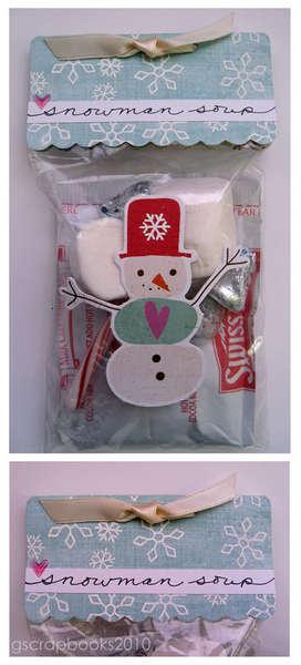 Snowman Soup (for Sizzix Blog Hop)