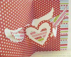love card featuring Pop `n Cuts (close up)