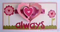 Love You pop-up card - inside (Sizzix)