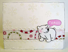 thanks card (Lawn Fawn stamps)