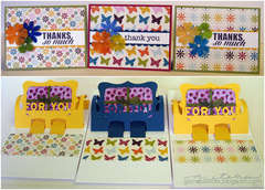 thank you cards with gift card holders