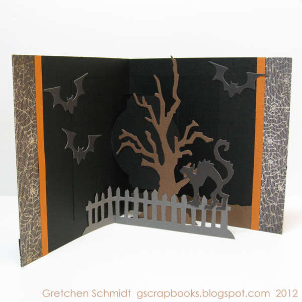 ookey-spookey trick or treat card (inside - pop `n cuts)