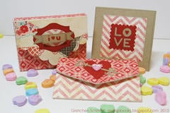Valentine's Day Projects w/ Sizzix ScoreBoards Dies