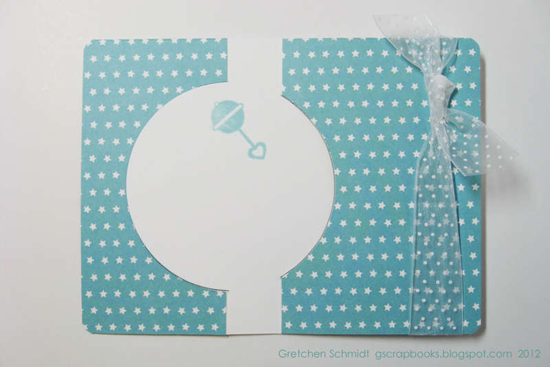 welcome baby card - inside
