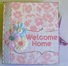 Welcome Home card (pop-up)