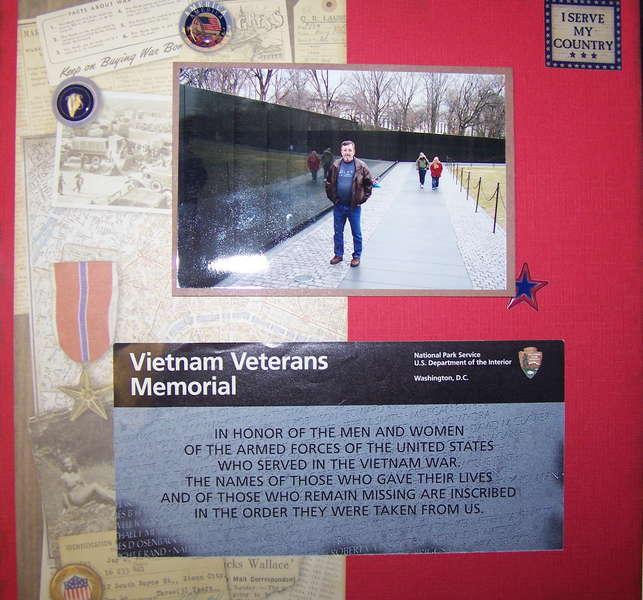 Father and Son Trip - Vietnam Veterans Memoria