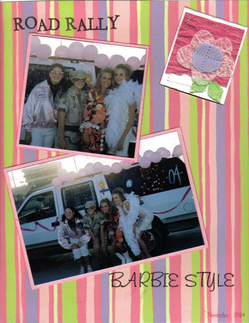 Road Rally Barbie Style