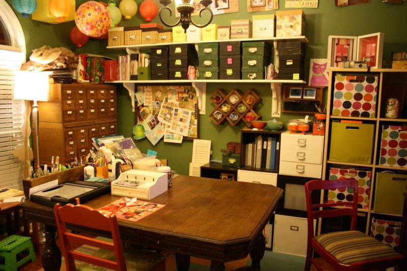 Scrapbook Room - Hot Mess - TIDY AFTER