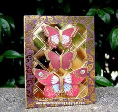 Golden Monarch Butterflies