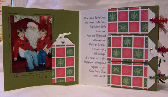 """Here Comes Santa Claus. . ."" Board Book"