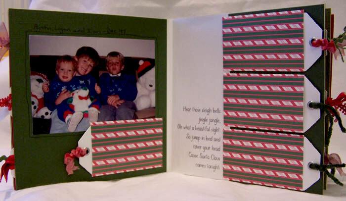 """""""Here Comes Santa Claus. . ."""" Board Book"""