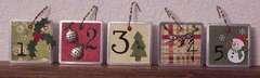 Advent Calendar Clock-Tags 1
