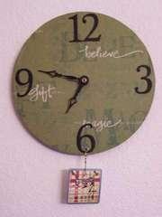 Advent Calendar Clock