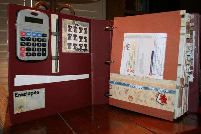 Bills Organizer - Calculator, Stamps & Envelopes
