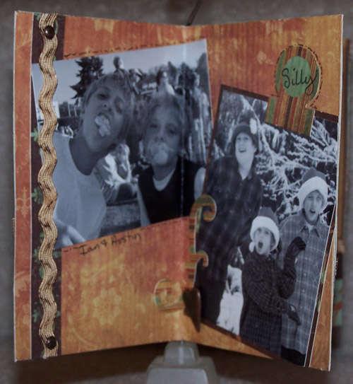 Oh Those Boys Mini Display Album - Side 2