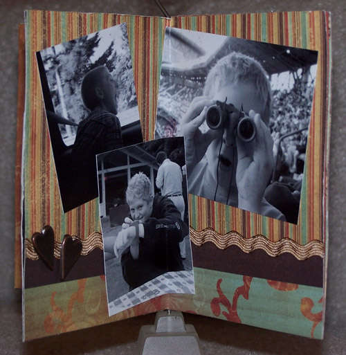 Oh Those Boys Mini Display Album - Side 3