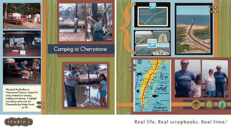 Camping at Cherrystone