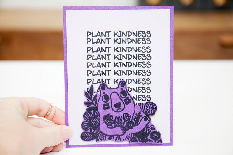 Waffle Flower - Plant Kindness Card